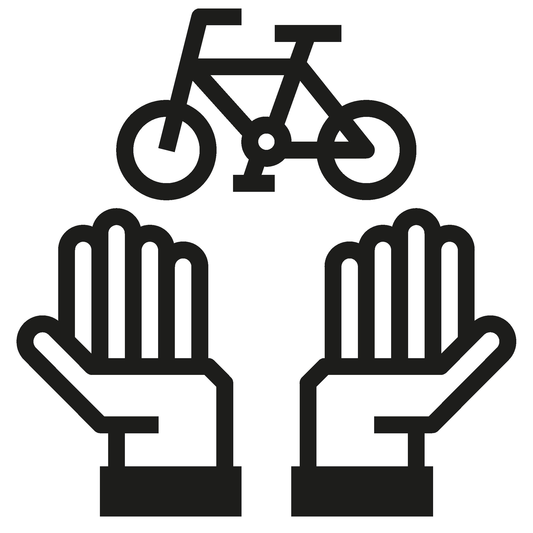 Icon Bike zurückgeben